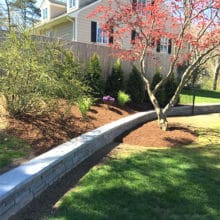 Green Horizons hardscape and landscaping