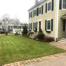 Green Horizons lawn care and walkways